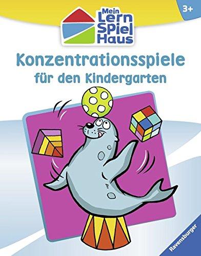 Konzentrationsspiele für den Kindergarten (Mein Lern-Spiel-Haus)