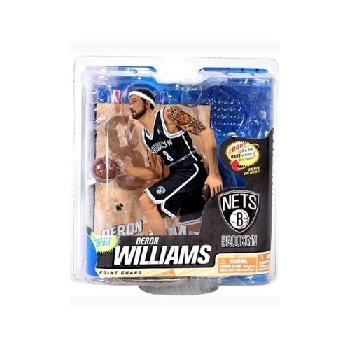 McFarlane Sportspicks: NBA Series 22 Deron Williams - Brooklyn Nets CHASE VARIANT 6 inch Action Figure by McFarlane Toys by Unknown - Deron Williams, Basketball