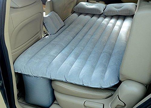 Preisvergleich Produktbild Luftmatratze / Luftbett, aufblasbar, mit Pumpe, ideal auf Reisen und zur Übernachtung im Fahrzeug, Maße (L x B x H): 134,6x 87,9x 41,9cm