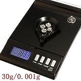 digital de la joyera de alta precisin 30g x 0,001 g escala de bolsillo 150