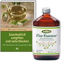 Flor Essence, flüssig, 500 ml + Buch: Ganzheitlich entgiften und entschlacken preisvergleich bei billige-tabletten.eu