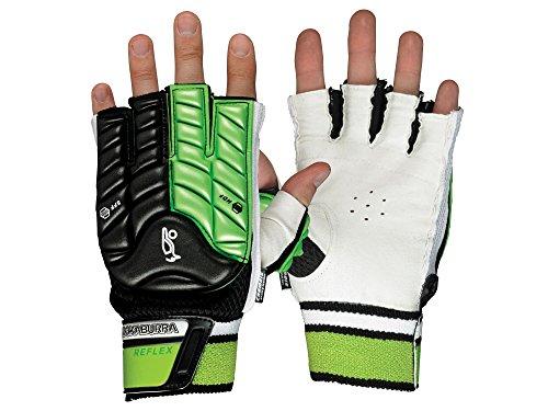 Kookaburra Unisex Reflex Hand Guard Hockey Protective Equipment, Black/Lime, Small