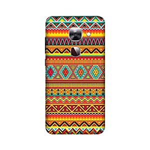 Abaci designed LeEco Le2 Mobile Back cover with Perfect Matte finishing and Motif Pattern design(Multicolor)