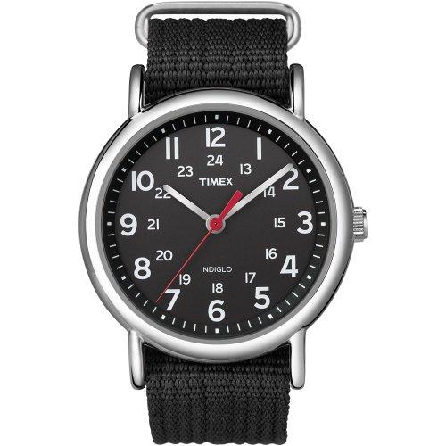 Timex Orologio al Quarzo Unisex Weekender Slip-Through 38 mm