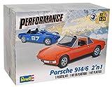 Porsche 914/6 Cabrio Rot Orange 1969-1976 85-4378 Bausatz Kit 1/25 1/24 Revell Monogram Modell Auto