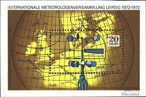 Prophila sellos para coleccionistas: DDR (RDA) Bloque 34-Bloque 36 (completa.edición.) nuevo con goma original 1972 Los meteorólogos-Asamblea