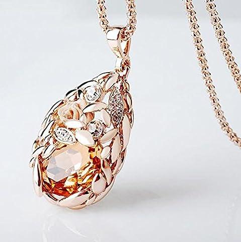 SaySure - wheat vintage ethnic necklace women fashion
