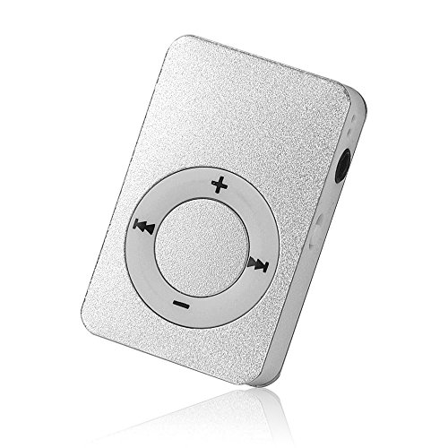 OSYARD MP3 Player,Musik Player,Tragbarer USB Digital Mini MP3-Player Unterstützt 32 GB Micro SD/TF-Karte,Aluminium Kartenleser Touch-Taste Verlustfreie Sound Musik Player in Verschiedenen Farben