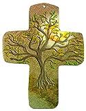 """metalum Premium croix murale en métal """" Le thuya"""" - un beau cadeau pour les chrétiens"""