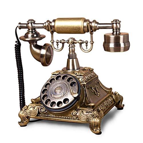 RMXMY Europäischen Stil Wohnzimmer antikes Telefon zu Hause Schlafzimmer kreative Retro festnetz Mode wählscheibe