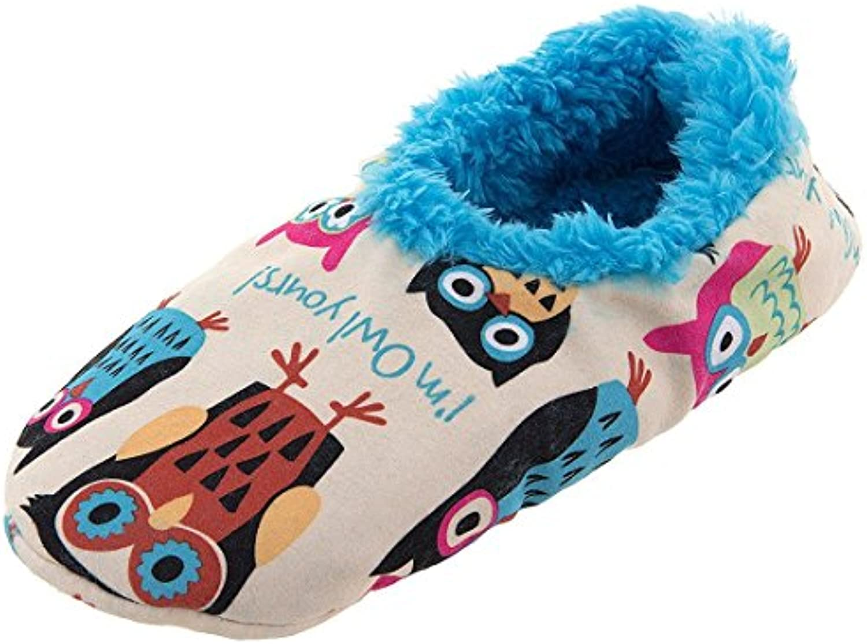 LazyOne Unisexo I'm Owl Yours Fuzzy Feet Zapatilla Adulto