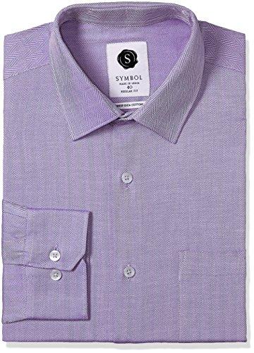 Symbol Men's Formal Premium Dobby Regular Fit Shirt