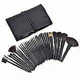 Make-up Pinsel, 32 Stück professionelle Bürsten Kosmetik Professional Essential Make-up Pinsel Set Kits mit Beutel