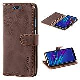 Mulbess Huawei Y6 2019 Case Wallet, Leather Flip Phone Case