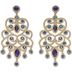 Swarovski - 1181326 - Boucles d'Oreille Femme - Métal doré  - Cristal Swarovski