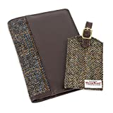 totes Men's Harris Tweed Travel Wallet &