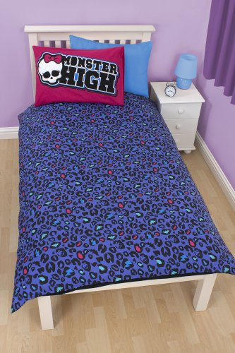 Image of Character world High Monster High Beasties Single Panel Duvet Set