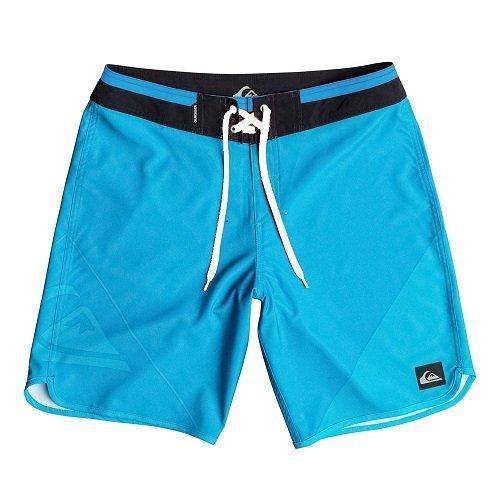 Quiksilver Herren New Wave 19 Zoll Board Shorts, Hawaiian Ocean, 34, EQYBS03236-BMJ6 (Hawaiian Mens Boardshorts)