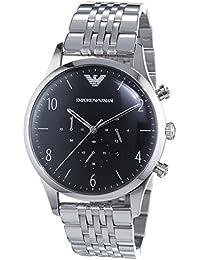 Emporio Armani Hombre Reloj de pulsera analógico cuarzo acero inoxidable ar1863