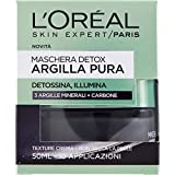 L'Oréal Paris Maschera per il Viso con Argilla Pura Detox con...