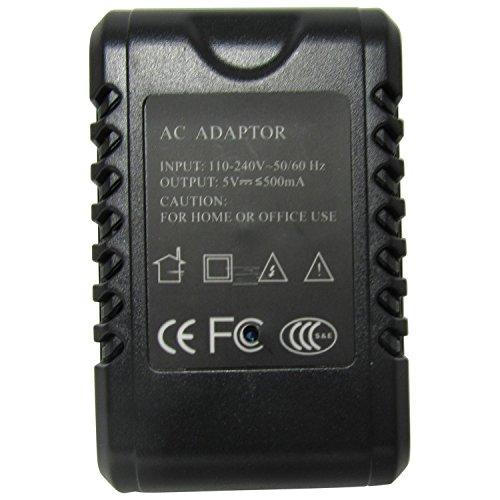 1080p Netzadapter Ladegerät USB-Netzteil mit versteckter 2MP Spy-Cam Spionage-Kamera , Mini-Kamera, Überwachungs-Kamera bis 256 GB Speicherunterstützung, Bewegungserkennung zur Langzeitüberwachung Version 2 mit neuer Firmware