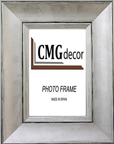 Portafoto madera CMGdecor Plata 247-60 20 X 25 Cm