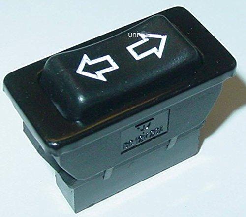 KFZ Wippentaster für Fensterheber, 12VDC/20A, 5 Kontakte, 1xAUS, 2xEIN, S103