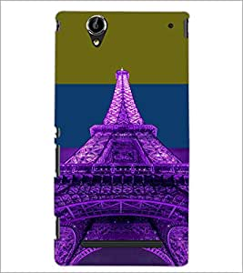 PrintDhaba Tower D-4916 Back Case Cover for SONY XPERIA T2 ULTRA (Multi-Coloured)