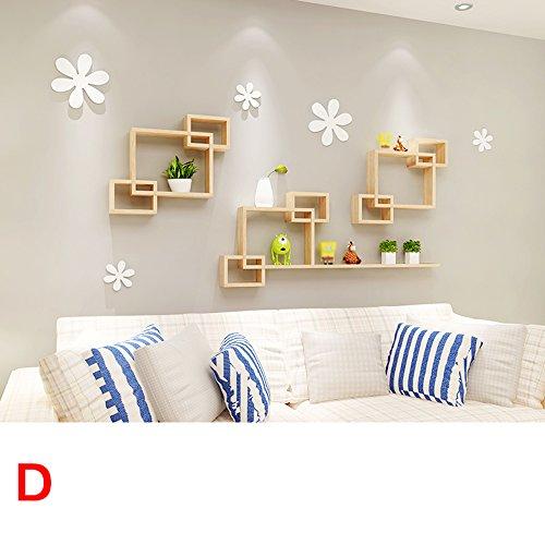 etageres-murales-en-bois-sejour-etageres-decoratives-pour-murs-combinaison-de-grille-creative-decora