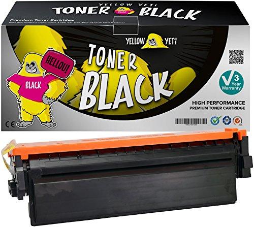 Yellow Yeti 410X CF410X Negro 6500 páginas Tóner Compatible para HP Color Laserjet Pro MFP M377dw M477fdw M477fnw M477fdn M452dn M452dw M452nw [3 años de garantía]