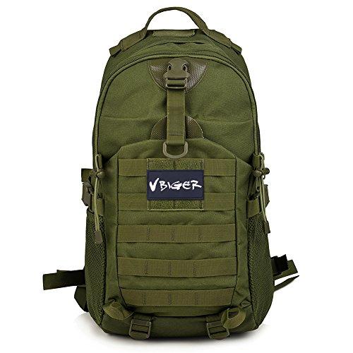 Imagen de vbiger  táctica militar ejército bolso al aire libre macutos de senderismo excursiones ejercito verde