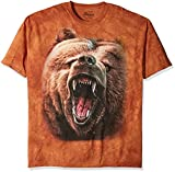 The Mountain Unisex Erwachsen Gr. XL Grizzly Growl Baer T Shirt