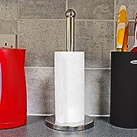 Taylor & Brown® Stainless Steel Kitchen Paper Towel Roll Dispenser Holder Stand Organiser