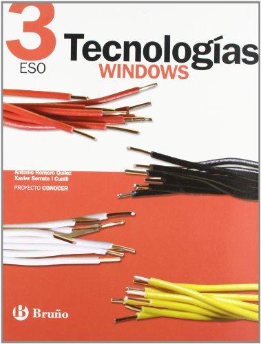 Tecnologías 3 ESO Windows Conocer (ESO 2007)