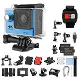 Superior ProCam R3Action Sports Kamera–Wasserdicht Ultra HD 4K 1080p Action Video Kamera mit Wi-Fi fähig   Fernbedienung Helm Action Video Camcoder blau–epiktec
