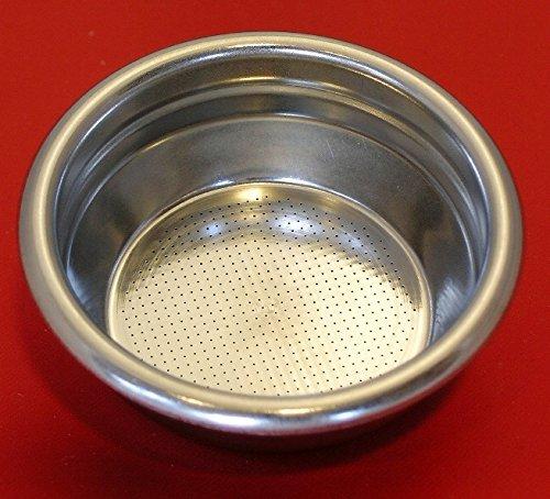 EDESIA ESPRESS 2 Tassen Ersatz f/ür Siebtr/äger 14 g Sieb-Einsatz f/ür ISOMAC