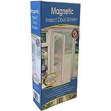 Country Club - Mosquitera magnética para puertas, color blanco