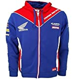 HONDA Sweat à Capuche Zippé officiel Team HONDA MOTO GP 2017 (L)
