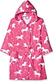 Sanetta Mädchen Bathrobe Bademantel, Pink (Carmine Rose 3929.0), 104