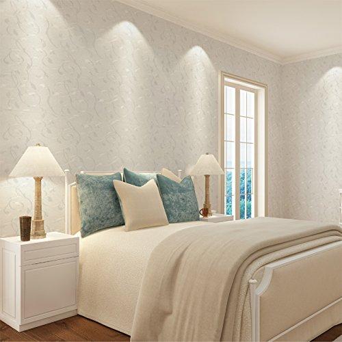 Zhzhco Selbstklebende Pvc Selbstklebend Hintergrund Tapete 45Cm*10M Schlafzimmer Tapete Geprägte Oberfläche