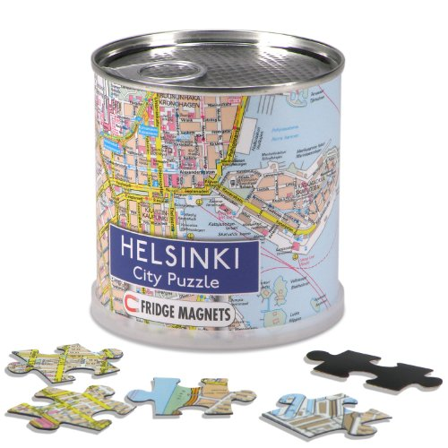 Preisvergleich Produktbild City Puzzle Magnets - Helsinki