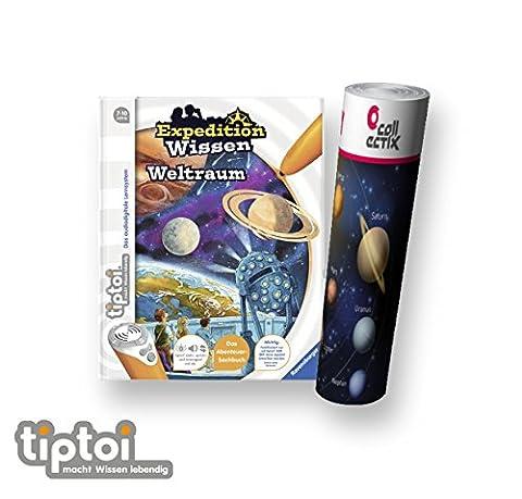 Ravensburger tiptoi® Buch Expedition Wissen: Weltraum + Kinder Planeten Poster by Collectix