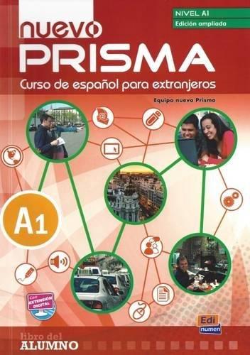 Nuevo prisam a1 libro del alumno (edicion ampliada 2) par Equipo nuevo Prisma