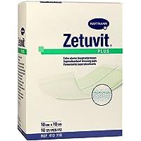 Zetuvit Plus Saugkompressen steril 10x10cm 10 Stück preisvergleich bei billige-tabletten.eu