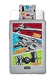 Sahinler/Star Wars Lucas Film 22010034 Disney - Juego de Cama Funda nórdica de 140 x 200 cm y Funda...