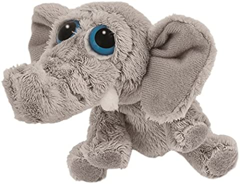 Suki Gifts Li'L Peepers Jungle Animals Stomper Elephant Soft Boa Plush Toy (Grey)