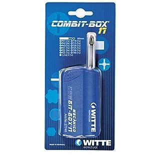 Witte Combit-Box 17-Schrauben mit 17Spitzen, mechanisch blau