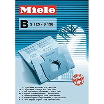 eVendix Staubsaugerbeutel passend für Miele S 125 138 Serie