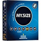 My Size Condoms 60mm x3 XL Extra Large Condoms (German Engineering at its best)