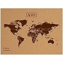 Amazon.es: mapamundi corcho